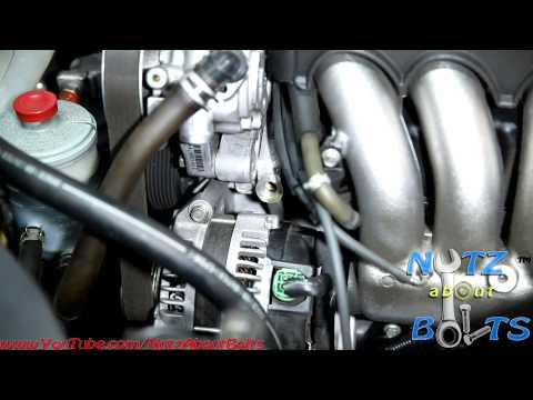 2003-2007 Honda Accord PCV valve remove and install