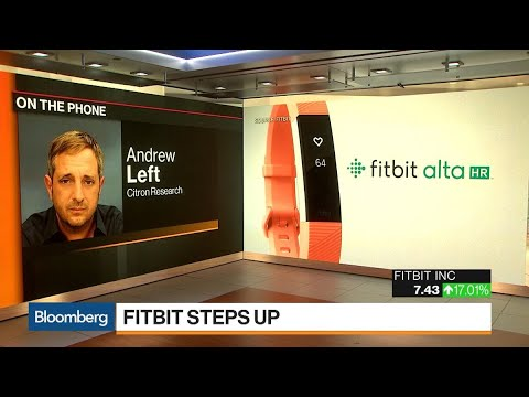 Citron's Andrew Left Sees Google Eventually Buying Fitbit