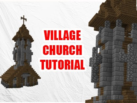 Minecraft Tutorial: How to build A Church
