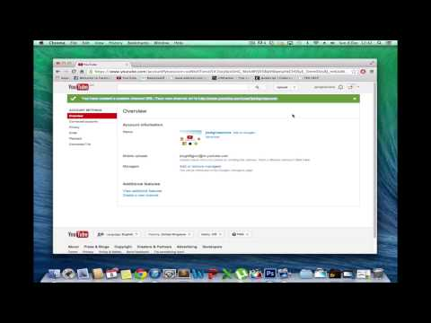 How to change your youtube URL
