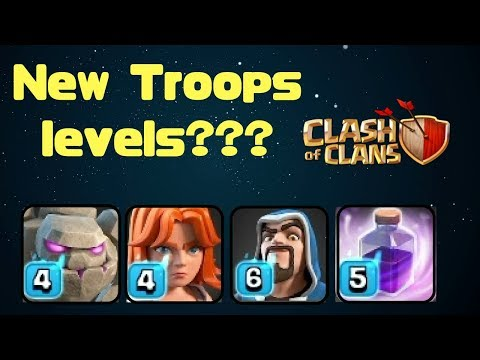 New Troops Level?? | Clash Of Clans | New Christmas Update | Power Potion | Full Explanation