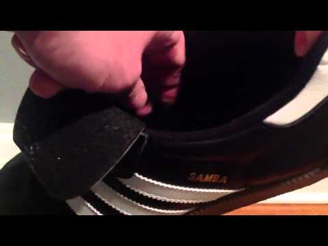 How to remove arch supports from Adidas Samba Classic shoes