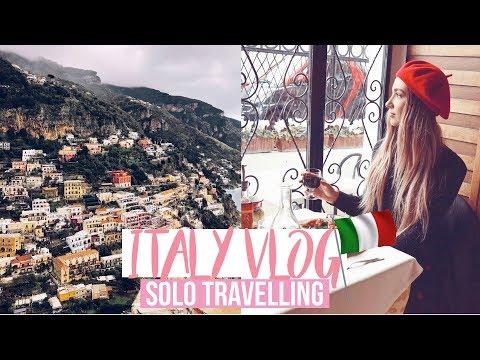 SOLO TRAVELLING TO ITALY 🇮🇹Sorrento, Positano and Amalfi