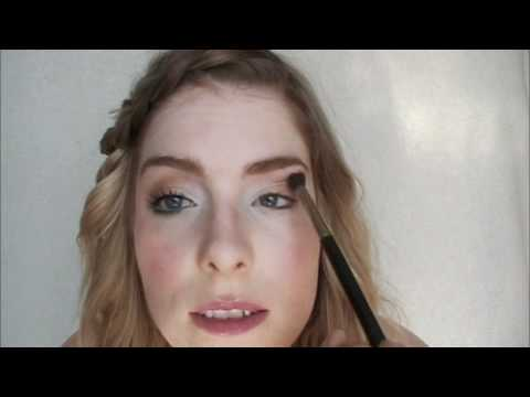 Easy and fun spring makeup look