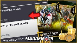 Best Way To Use Your Game Of The Year Collectibles For TOTY Sets!
