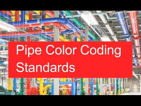 Pipe Color Coding Standards   ASME   ANSI   Piping Official