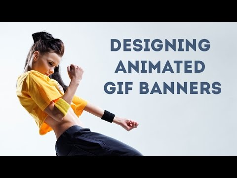 Designing Animated GIF Banners in Photoshop