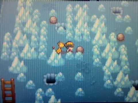 Pokemon Soul Silver Walkthrough Part 36:The Ice Path!