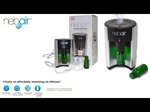 Greenair Nebair Aromatherapy Ultrasonic Essential Oil Diffuser Reviews
