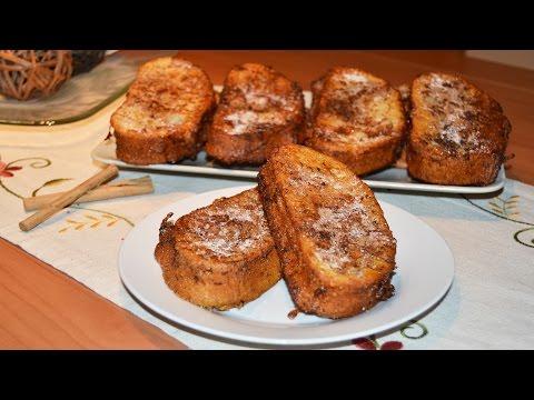 Spanish Bread Pudding (Torrijas) - Easy Spanish Dessert Recipe
