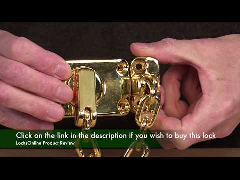 Yale High Security Door Chain WS16   LocksOnline Product Review