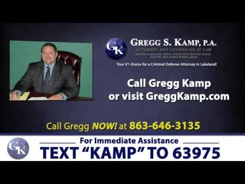 Criminal Attorney in Lakeland FL Criminal Defense Lawyer http://www.GreggKamp.com