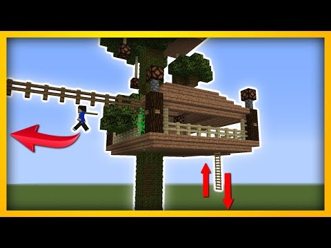 Minecraft - How to build a commandblock TREE HOUSE