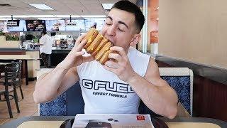 FULL DAY OF EATING! w/ FaZe Censor