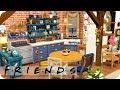FRIENDS APARTMENT | Sims 4 Speed Build (No CC)