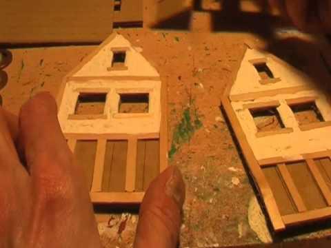 Building model Tudor Cottages