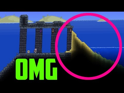 This Terraria World Is MISSING A dungeon? OMG!! lol
