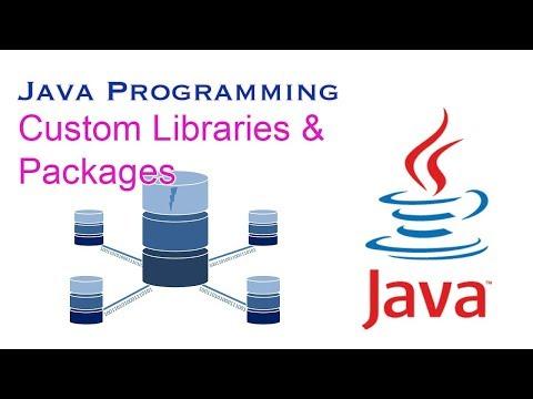 Java Custom Libraries