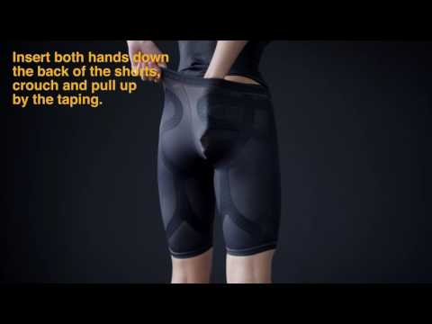 Enerskin - How To Wear Compression Shorts