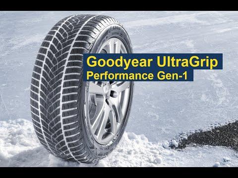 Зимняя высокоскоростная шина Goodyear UltraGrip Performance Gen-1 [с субтитрами]