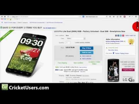 CricketUsers.com - LG G Pro Lite 5.5