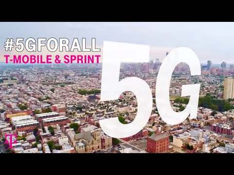 T-Mobile & Sprint: 5G For All