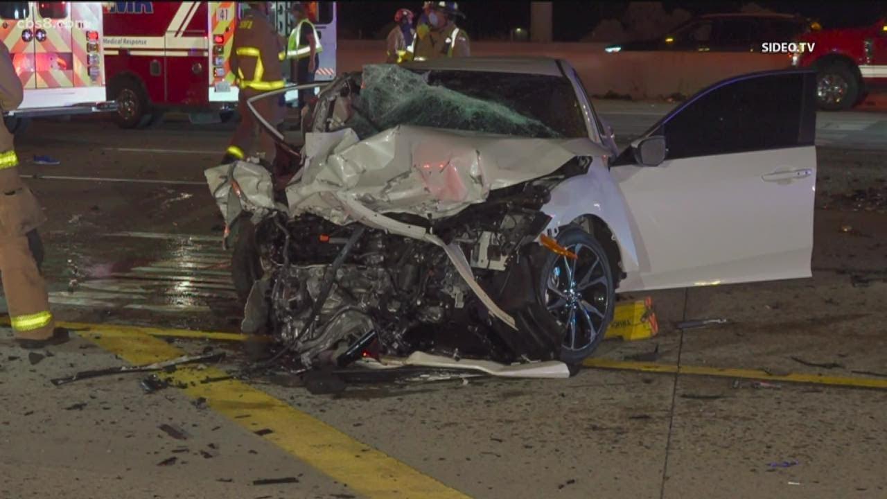 All lanes closed after fatal crash on Interstate 5 near SR-56