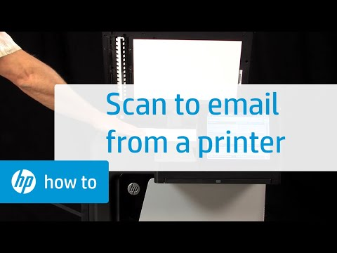 How to Scan to Email from Your Printer