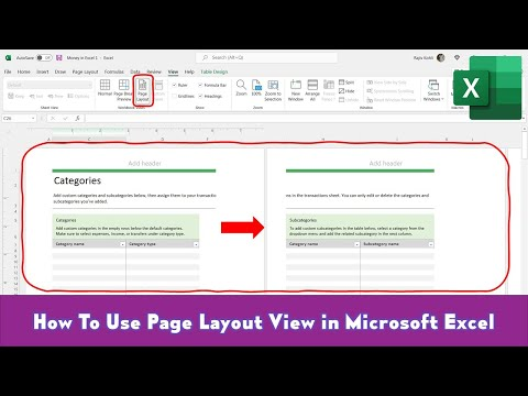 How to Use Page Layout View in Microsoft Excel 2016 Tutorial | The Teacher