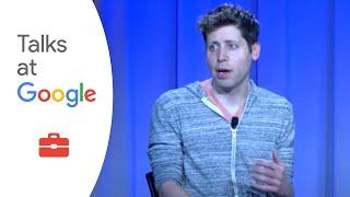 "Sam Altman: ""The Winding Path of Progress""   Talks at Google"