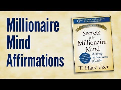 Millionaire Mind Affirmations: Abundance Declarations Inspired by T Harv Eker