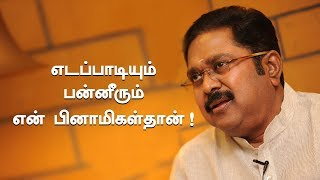 We are Educated..Not illiterates ! | TTV Dhinakaran Exclusive Interview