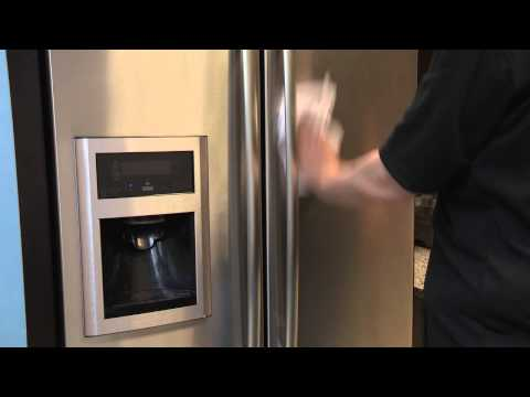How To: Cleaning a Stainless Steel Door