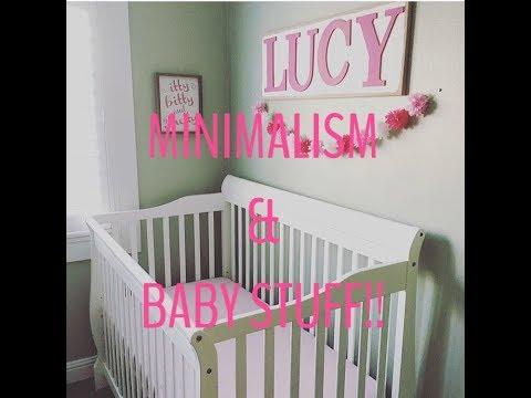 MINIMALISM & BABY STUFF // BABY ESSENTIALS