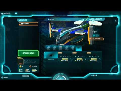 Planetside 2 - New Galaxy Air Intakes 05/02/14
