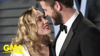 Miley Cyrus defends herself from cheating rumors after split with Liam Hemsworth | GMA