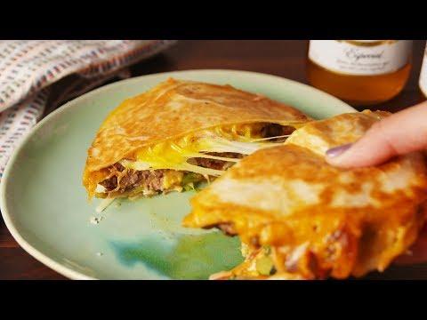 Quesadilla Burger | Delish
