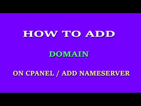 How to add domain on CPanel  । Add name server on namecheap domain ।  Add addon domain on  hostgator