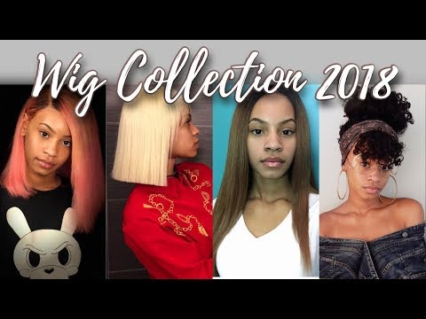 My Updated Wig Collection 2018