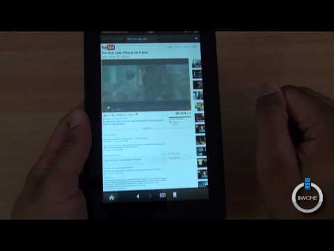Amazon Silk Browser On The Kindle Fire - BWOne.com