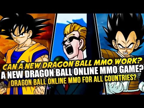 A New MMORPG Dragon Ball Z Game? Dragon Ball Online Successor? Xenoverse Like Character Creation?
