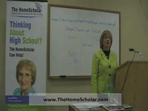 Homeschool Transcripts - 14. The Homeschool Advantage in Transcripts