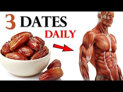 Eat 3 Dates Daily and These 5 Things will Happen to Your Body ! Health Benefits of Dates