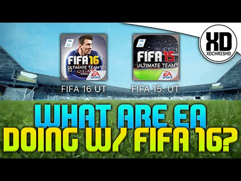 WTF?! | WHAT HAVE EA DONE TO FIFA 16 AND 15 ULTIMATE TEAM IOS/ANDROID?!