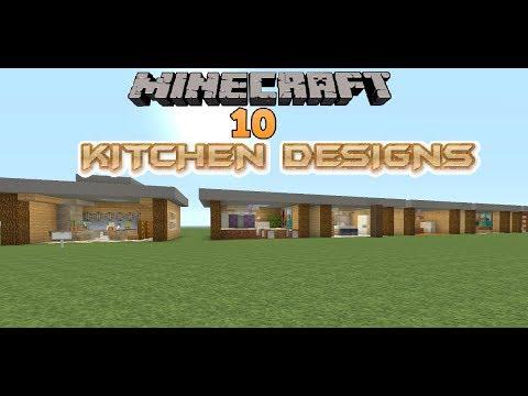 Minecraft 10 Kitchen Designs