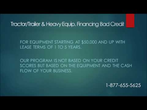 Tractor Financing for Bad Credit