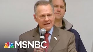 GOP Says Blame For Alabama Loss Falls On Roy Moore, Not Donald Trump   MTP Daily   MSNBC
