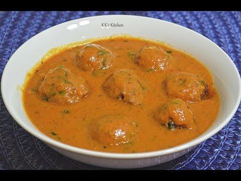 Cabbage Kofta Curry | Patta Gobi Kofta Curry | Cabbage Kofta Sabzi | Indian Vegetarian Curry Recipe