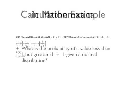 CDF illustrated with Normal Distribution.mov