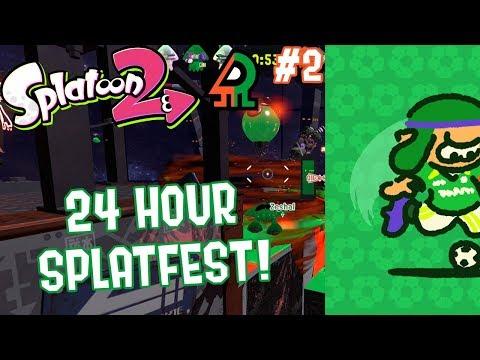 Splatoon 2 Splatfest #9 (Baseball VS Soccer) Part 2 [24 HOUR SPLATFEST!]